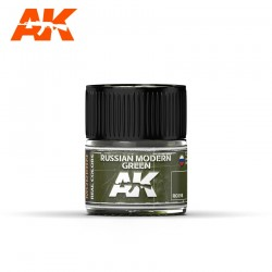 Russian Modern Green, 10ml. Real Colors.