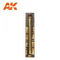 Tubos de latón. 1,4 mm.
