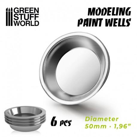 Modelling paint wells (x6)