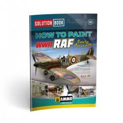 Cómo pintar Aviones de la RAF. Solution box.