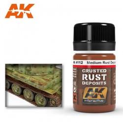 Medium rust deposit. 35 ml.