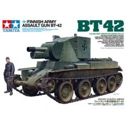 BT-42, cañón de asalto finlandés.