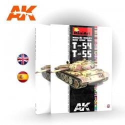 T-54 / T-55. Modelando el tanque más icónico del mundo.