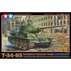T34/85, tanque medio ruso.