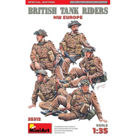 British soldiers tank riders.