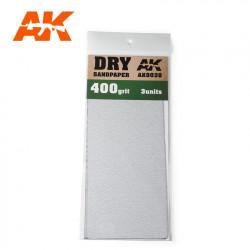 Dry sandpaper, 800 g.