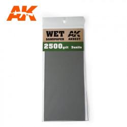 Dry sandpaper, 400 g.