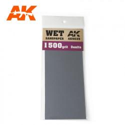Wet sandpaper, 2000 g.