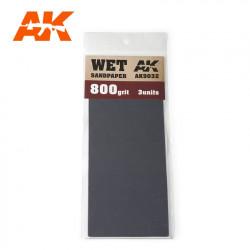 Wet sandpaper, 800 g.
