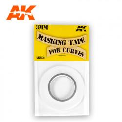 Maskint tape 3 mm.