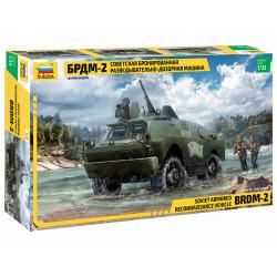Soviet armored BRDM-2.