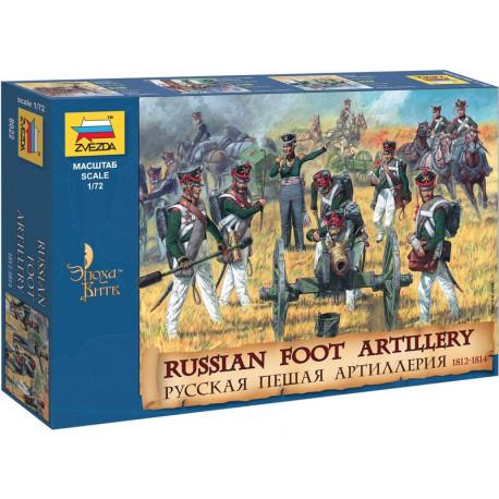 Russian foot artillery.