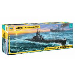 Soviet submarine SHCHUKA.