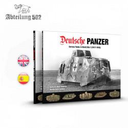 Deutsche Panzer | Tanques alemanes en la I Guerra Mundial.