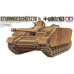 Sturmgeschutz IV alemán (Sd.Kfz.167). TAMIYA 35087