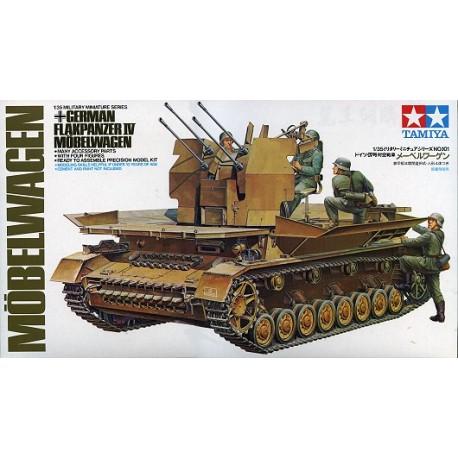 German Flakpanzer IV Mobelwagen. TAMIYA 35101