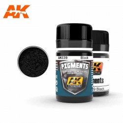Pigmento negro. 35 ml.