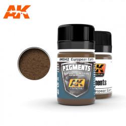Pigment - Europe earth. 35 ml.