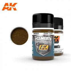 Pigment - Dark earth. 35 ml.