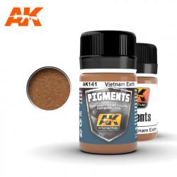 Pigment - Vietnam earth. 35 ml.