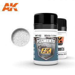 Pigment - White ashes. 35 ml.