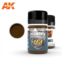 Pigment - Burnt Umber. 35 ml.