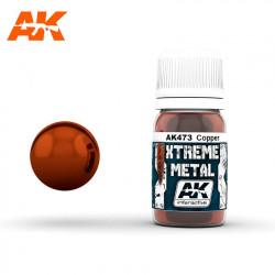Xtreme Metal Copper, 30 ml.