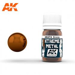 Xtreme Metal Bronze, 30 ml.