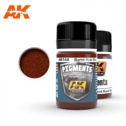 Pigment - Burnt rust red. 35 ml.