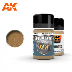 Pigment - Middle East soil. 35 ml.