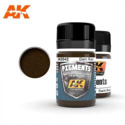 Pigment - Dark rust. 35 ml.