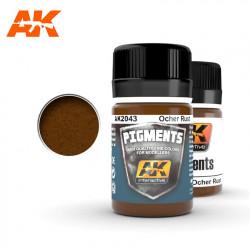 Pigment - Ocher rust. 35 ml.