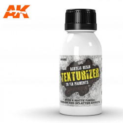 Texturizer acrylic resin. 100 ml.
