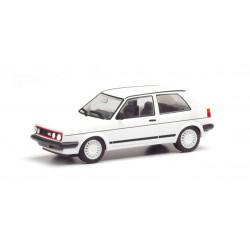 VW Golf II GTI, white.