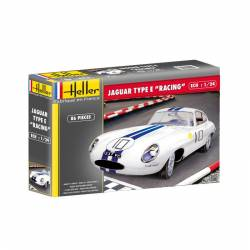 "Jaguar E ""Racing"". HELLER 80783"