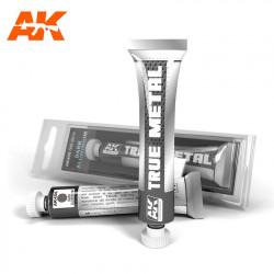 True Metal Aluminio oscuro | Efecto metalizado.