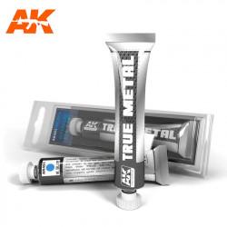 True Metal Azul metalizado | Efecto metalizado.