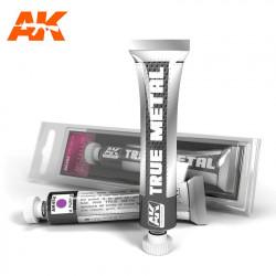 True Metal Púrpura metalizado | Efecto metalizado.