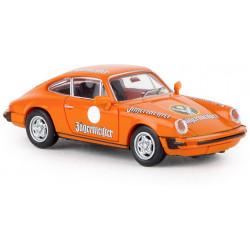Porsche 911 Coupe, red.