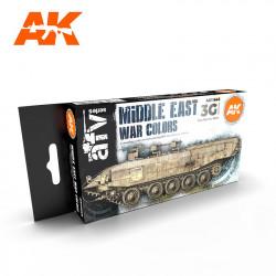 Set de colores de la guerra de Oriente Medio.