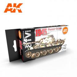 Set de colores Panzer 1945.