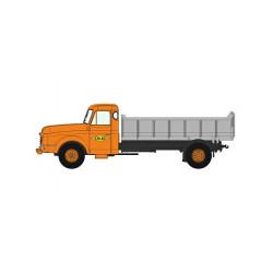 Camión Willeme con basculante.