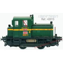 "Locomotive 10109 ""Memé"". Standard green."
