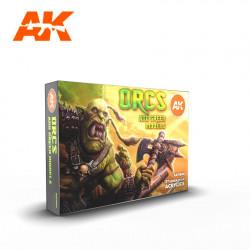 Orcs and green models.