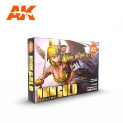 NMM (Non Metallic Metal) Gold.