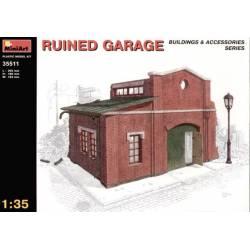 Ruined garage.