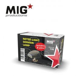 Notek light German lamp (x8).