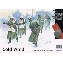 Cold wind; German infantry 1941-42.