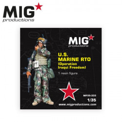 US Marine RTO, Operation Iraqui Freedom.