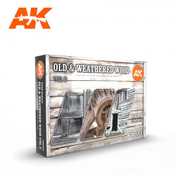 Old & weathered wood colors set (Vol.2).